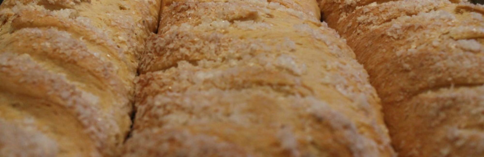 salt loaf close up
